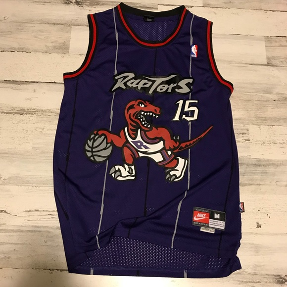 super popular eea6e 4cd79 Nike Vince Carter Raptors Jersey Size Medium